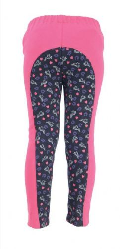HyPERFORMANCE Print Tots Jodhpurs in Pink or Navy